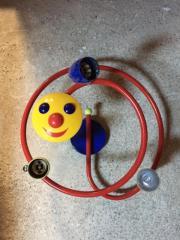 Kinderzimmerlampe Sonne - Spirale mit GU