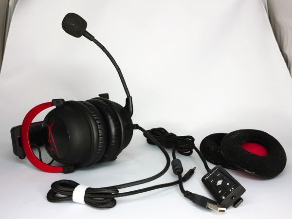 KINGSTON HYPERX CLOUD II KHX-HSCP-RD Rot Headset - Nürnberg Gostenhof - erkaufe o.g. Headset in einem guten gebrauchten Zustand.Voll funktionsfähig.Die Schaumpolster wurden durch hochwertige SHURE-SHR840 Lederpolster ersetzt.Schaumpolster werden frisch gewaschen mitgeliefert - leider bekam das Schaumpol - Nürnberg Gostenhof