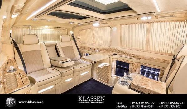 klassen mercedes benz sprinter vip mse b 6400 luxury. Black Bedroom Furniture Sets. Home Design Ideas