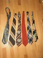 Krawatten aus den 50er 60er