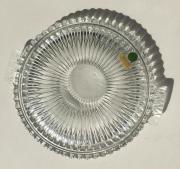 Kristallglas-Kuchenplatte, Durchmesser