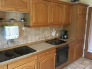 Küchenzeile Eiche hell