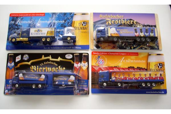 Kulmbacher Brauerei Trucks