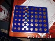 Kursmünzen Satz Luxemburg 2008
