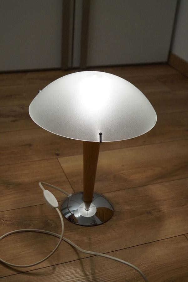 nachttischlampe glas gebraucht kaufen 3 st bis 60 g nstiger. Black Bedroom Furniture Sets. Home Design Ideas