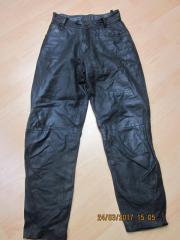 Lederhose schwarz Gr 36