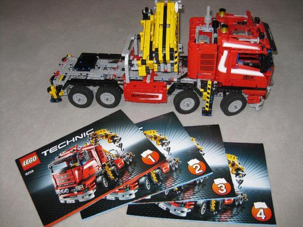 lego technic 8258 truck mit power schwenkkran in m nchen. Black Bedroom Furniture Sets. Home Design Ideas