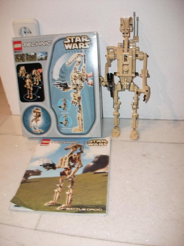 lego technik star wars battle droid 8001 episode 1 in forchheim spielzeug lego playmobil. Black Bedroom Furniture Sets. Home Design Ideas