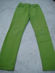 Mädchen-Jeans Arizina 152 grün