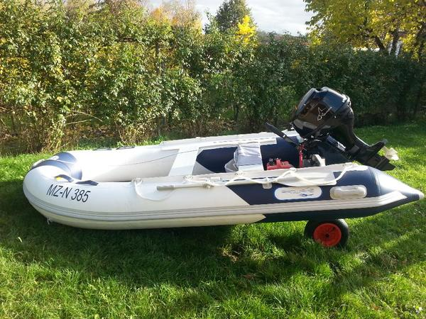 marine qualit t schlauchboot 3 30m 10ps motor mit 1. Black Bedroom Furniture Sets. Home Design Ideas