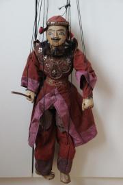 Marionette  Kämpfer Asiatisch