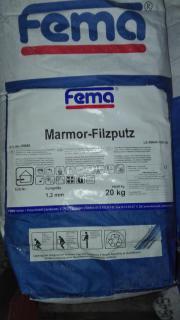 Marmor Filzputz , Therm
