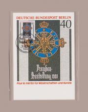 Maximumkarte Berlin Preußen-Ausstellung 1981