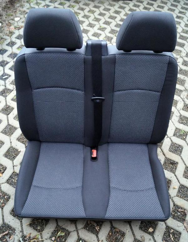 mercedes vito viano w639 beifahrersitzbank sitzbank. Black Bedroom Furniture Sets. Home Design Ideas