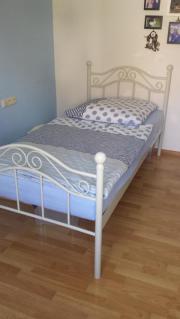 metallbett 90x200 in karlsruhe haushalt m bel gebraucht und neu kaufen. Black Bedroom Furniture Sets. Home Design Ideas