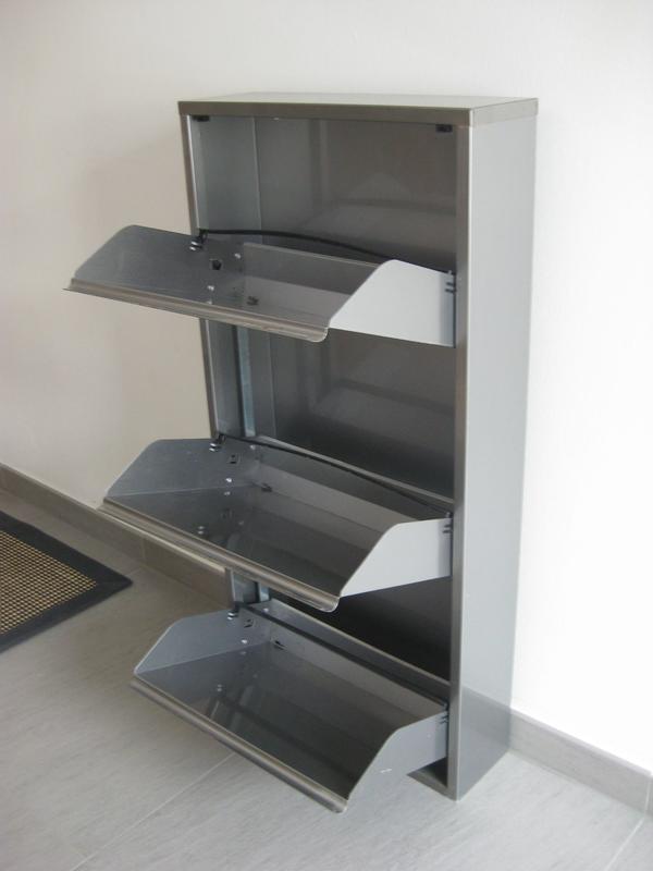 Wand schuhschrank neu und gebraucht kaufen bei for Schuhkipper metall