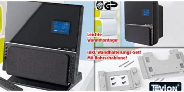 Micro Stereoanlage mit CD-Player und USB zur Wandmontage - Speyer - Verkaufe eine chice und gut erhatene HiFi-Anlage von TEVION, welche vor einigen Jahren bei ALDI-Süd gekauft wurde. Die Anlage (Maße ca. B: 31,5 x H: 31 x T: 17,2 cm) war seitdem in Betrieb und ist nach wie vor sehr gut erhalten. Die Anlage hat  - Speyer
