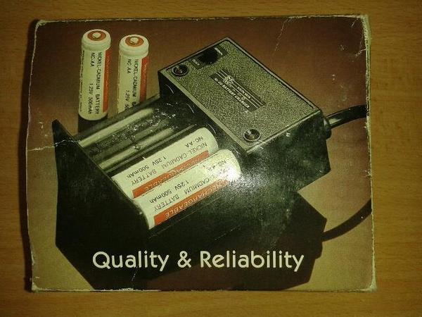 MINWA Ni-Cd Batterie-Ladegerät für UM