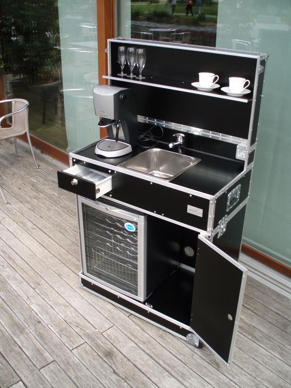 Mobile Küche, Messeküche, Vermietung u. Verkauf, Mietküche, mobile ...