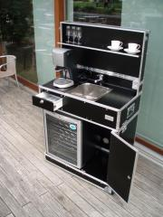 Mobile Küche, Messeküche,