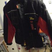Motorrad Jacke Polo