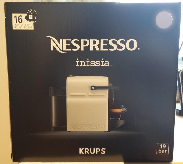krups kaffeemaschine nespresso gebraucht kaufen nur 4 st bis 65 g nstiger. Black Bedroom Furniture Sets. Home Design Ideas