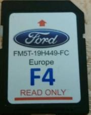 Navigations-Kartenmaterial Ford