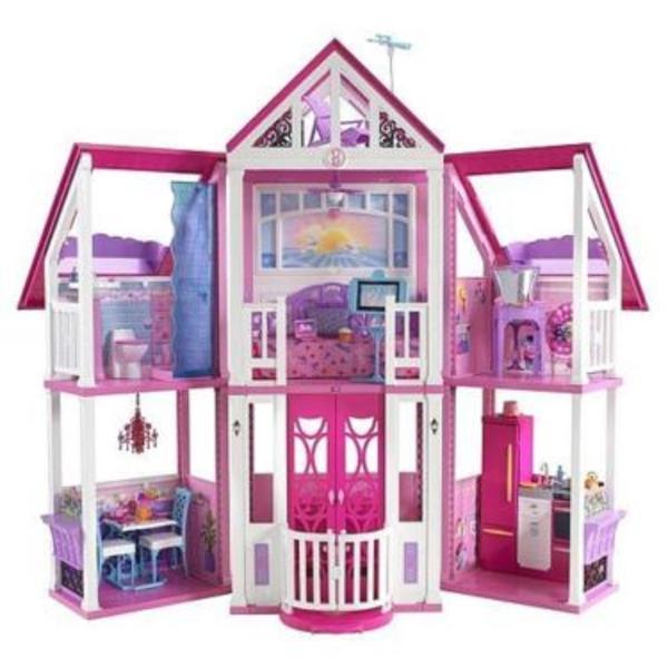 neu mattel barbie puppenhaus w3141 kalifornien spielzeug haus in strausberg spielzeug lego. Black Bedroom Furniture Sets. Home Design Ideas
