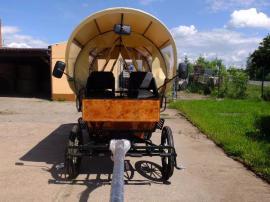 Pferde - Neuer Planwagen