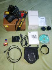 Nikon D800 mit