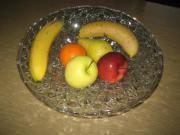 Obstschale aus Glas Glasschale Schale