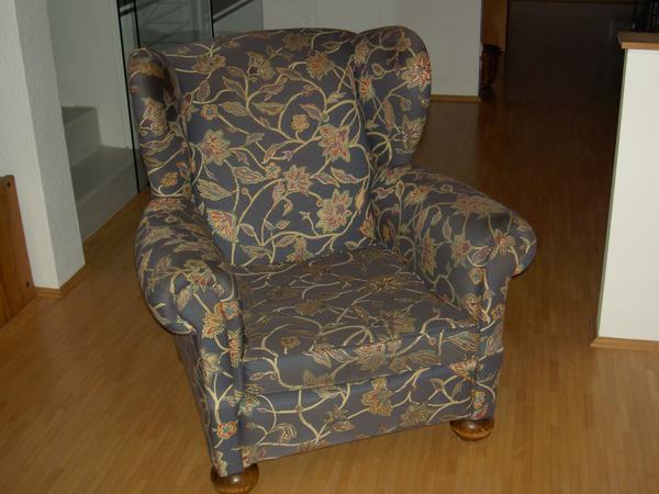 ohrensessel gr n gebraucht kaufen nur 2 st bis 70 g nstiger. Black Bedroom Furniture Sets. Home Design Ideas