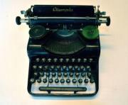 Olympia antike Schreibmaschine -