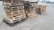 Paletten als Brennholz