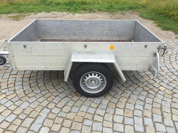 Pkw Anhänger Alu 600 Kg TÜV NEU in München - Anhänger, Auflieger ...