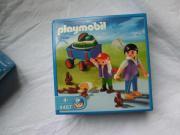 Playmobil 4467 Tierpark-Besucher mit Bollerwagen