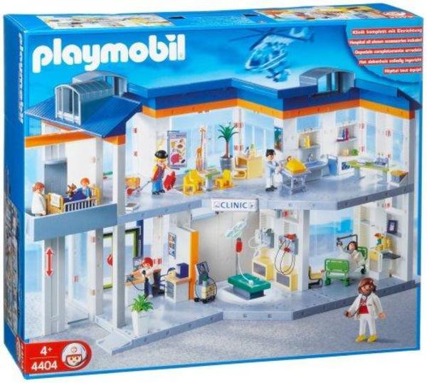 playmobil grosses krankenhaus 4404 mit viel zubehör
