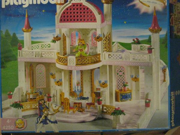 playmobil schloss 4250 + küche 4251 + schlafzimmer 4253 +