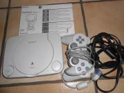 Playstation 1 slim line mit