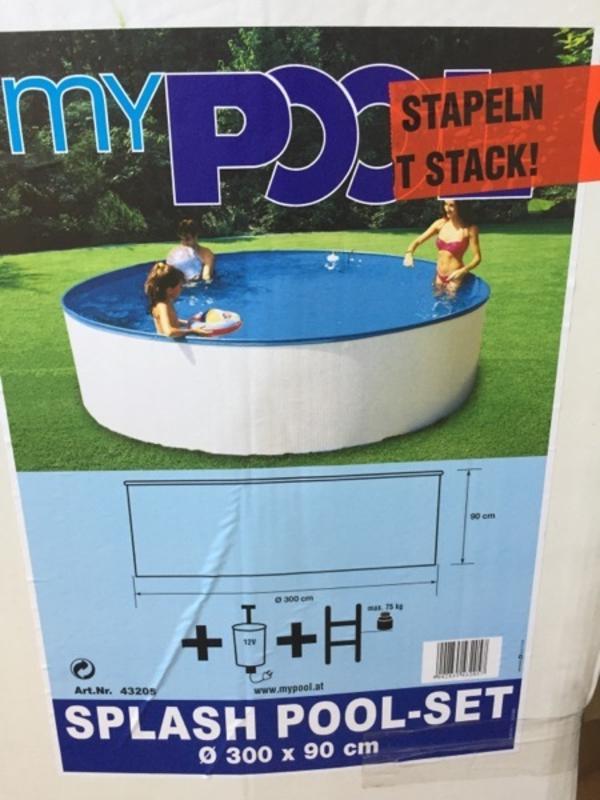 Swimmingpool komplettset gebraucht kaufen nur 2 st bis for Gartenpool ebay kleinanzeigen