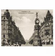 Postkarte Frankfurt am Main um