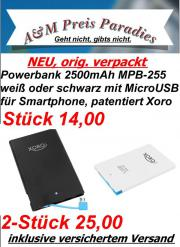Powerbank 2500mAh MPB-