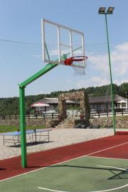Professionalle Basketball anlage,