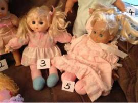 Puppen - Puppen mit Schlafaugen etc