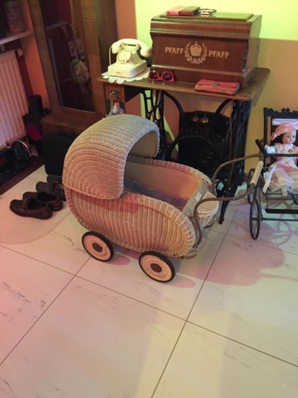 Puppenwagen aus den 50er Jahren
