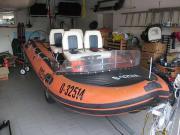 Rarität: Schlauchboot Canguro