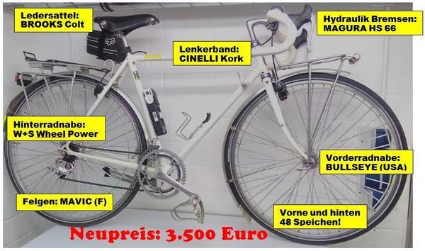 Reiserad maßgeschneidert v Rahmenbauer Hans