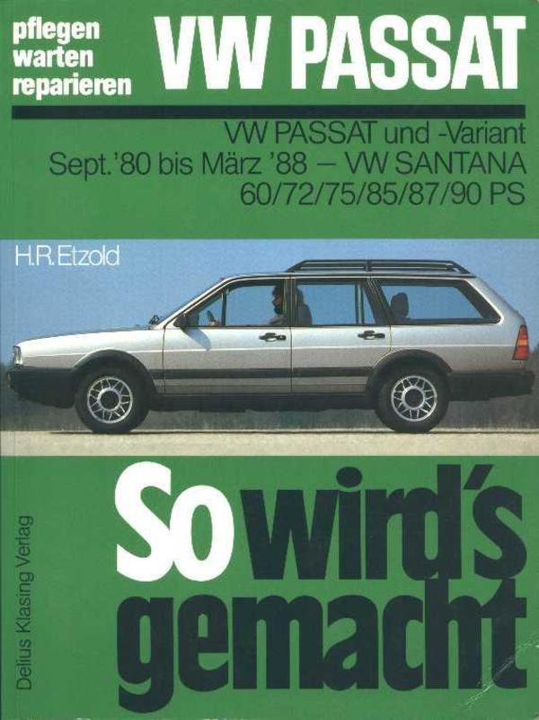 Reparaturhandbuch VW Passat und -Variant