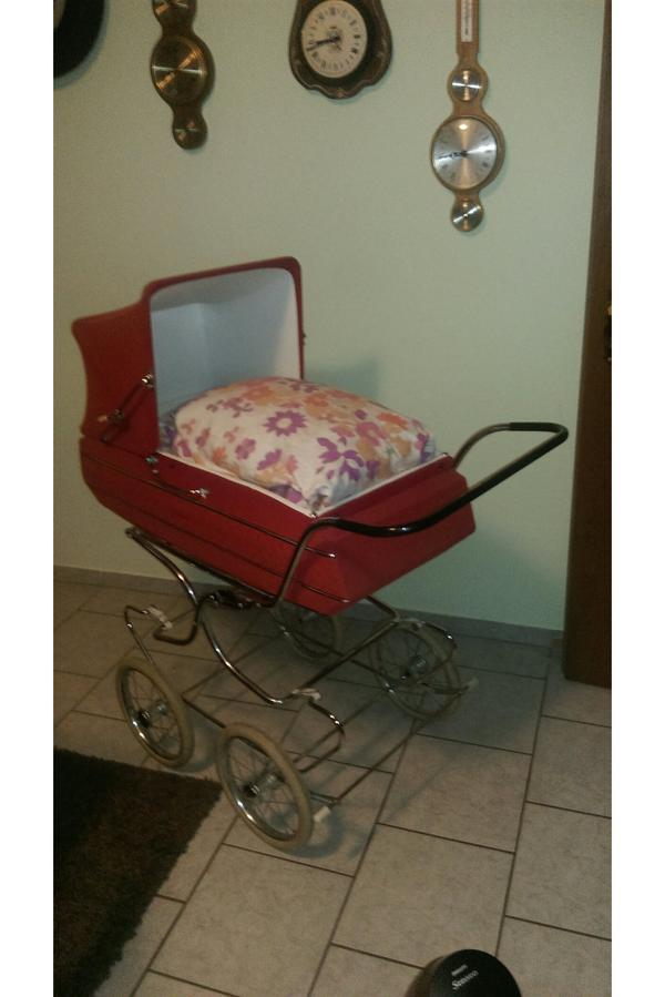 retro vintage nostalgie kinderwagen bj 1968 in saarburg kaufen und verkaufen ber. Black Bedroom Furniture Sets. Home Design Ideas