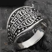 Ring aus Edelstahl US Gr
